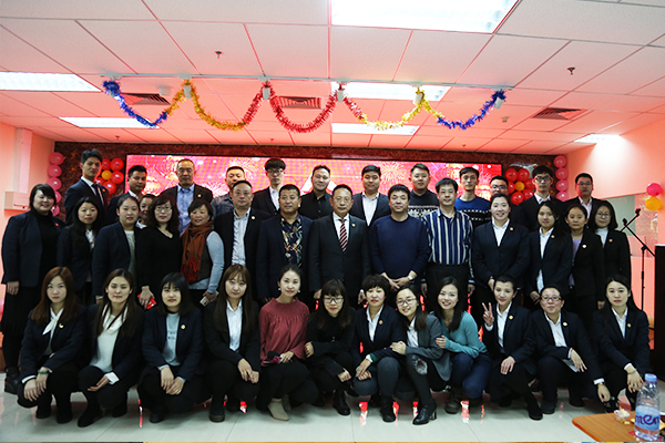 Beroni Group held 2017-2018 Annual Work Summary Meeting & New Year Celebrating Party, all managers and staff attended this meeting and had a good time at the party.