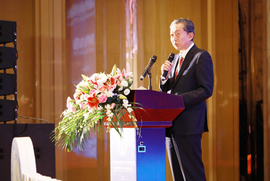 H.E. Yukio Hatoyama, Former Prime Minister of Japan making his keynote speech2