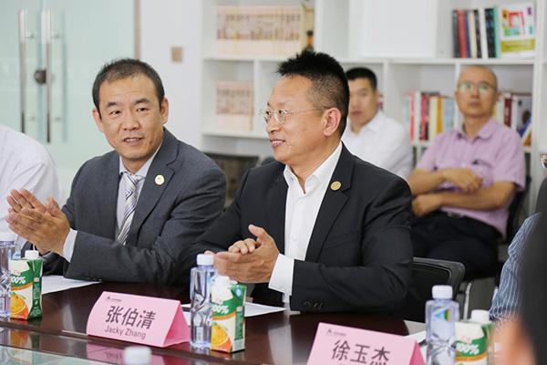 Jacky Zhang expressed sincere thanks to Professor Walter Ian Lipkin
