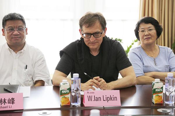 Lipkin教授参与座谈会